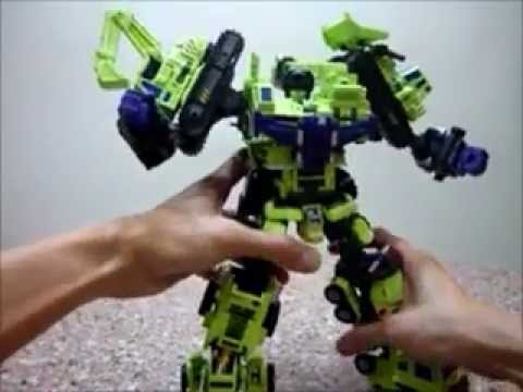 Maketoys Giant Type-61 not Transformers Devastator Review
