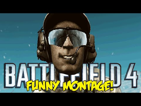 Battlefield 4 Final Stand Funny Montage!  POD Trolling, Flying Disco Tank , RAGE (BF4 Funny Moments)