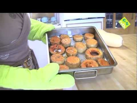 Calabaza al horno - Cocina sana - generacionnatura.org
