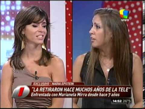 Marianela Mirra vs. Nadia Epstein, cara a cara siete años después
