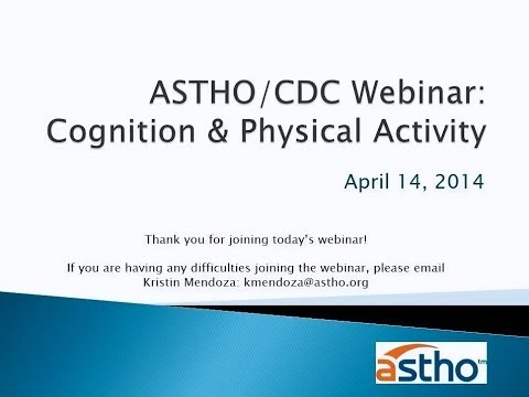Healthy Aging: Cognition and Physical Activity