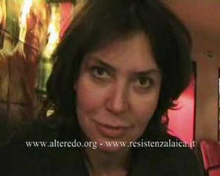 Alteredo intervista Sabina Guzzanti
