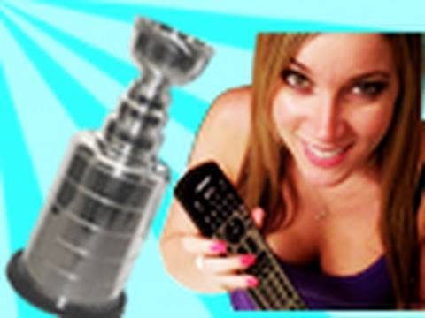 Stanley Cup Ruined by Girlfriend 2010