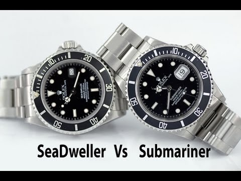 Rolex Sea Dweller 16600 Replica Rolex Sea Dweller 16600 vs