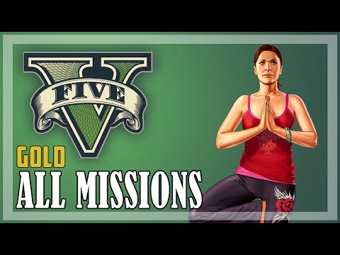 GTA 5 - All Missions GOLD | Full Game