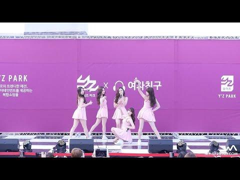 151025 여자친구(GFRIEND) - White (하얀마음) @광주 와이즈파크 직캠/Fancam by -wA-