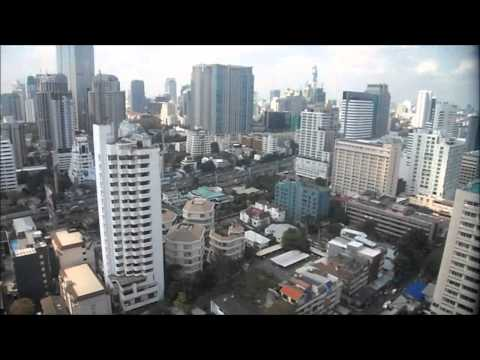 Omni Tower Bangkok Thailand – Amazing View From Lift