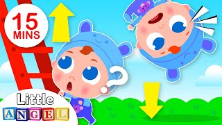 Up and Down | Opposites Song | Best Nursery Rhymes & Kids Songs by Little Angel