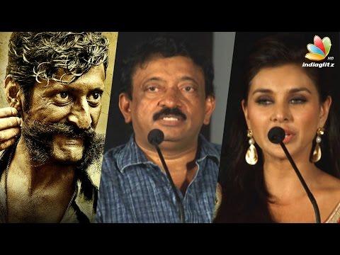 Veerappan's unique character impressed to do his biopic - Ram Gopal Varma Speech |  Press Meet