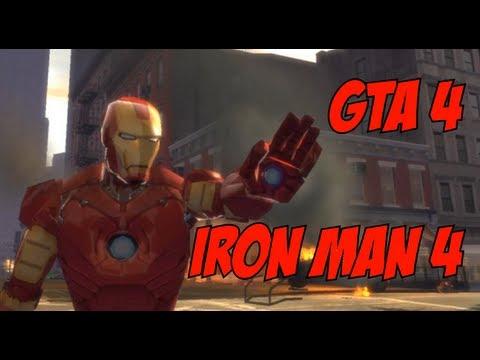 Iron Man 4 Mod! - GTA 4 (EFLC)