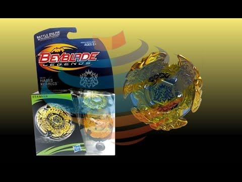 Beyblade Legends BB-99 Hades Kerbecs BD145DS Review Unboxing Giveaway Expires Aug 13th 2014 (CLOSED)
