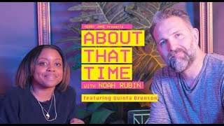 Quinta Brunson Talks Stand-Up, Super Bowl Wins, and Throwing Up on ASAP Rocky | ABOUT THAT TIME