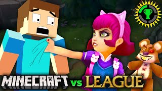 Game Theory: Minecraft vs. League of Legends, The Battle for the Decade's BEST GAME!