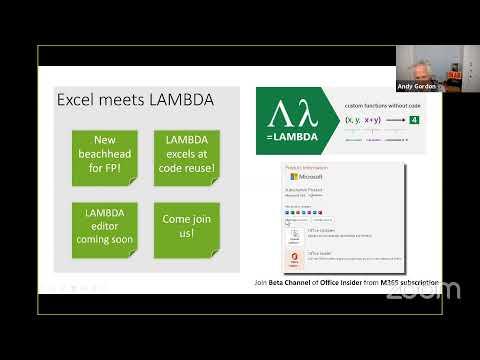 Excel meets Lambda
