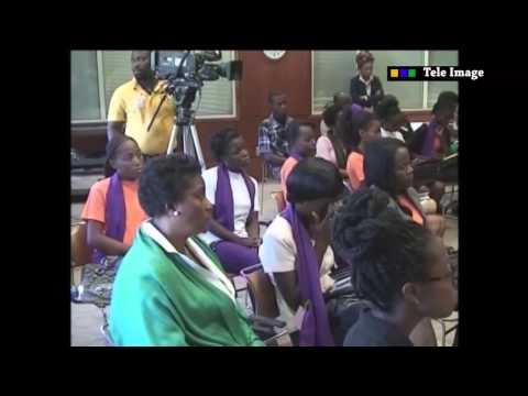TELE IMAGE - L'AMBASSADE DES ETATS UNIS D'HAITI PRÉSENTE UN FORUM SUR LA VIOLENCE SEXUEL EN HAITI