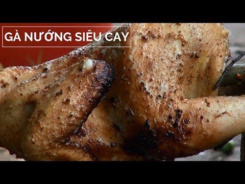 Thử thách làm gà nướng siêu siêu cay có một không hai....