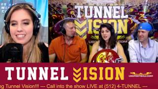 Tunnel Vision - Special guest USC Drum Major India Anderson
