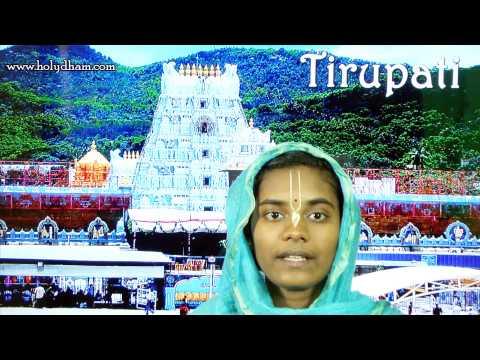Tirupati – Temple Below Tirupathi Photo Image Pic