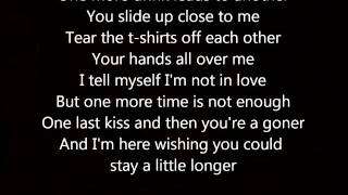 Stay A Little Longer- Brothers Osborne Lyrics