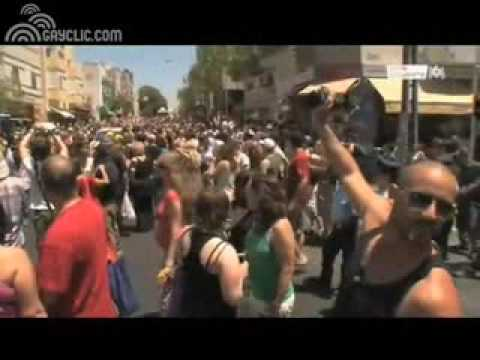 ISRAEL TEL AVIV LES JUIFS GAYS FONT LA PARADE