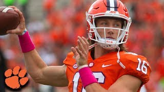 Clemson QB Trevor Lawrence Top Plays 2018