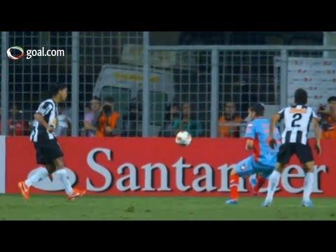 Ronaldinho scores cheeky but brilliant goal