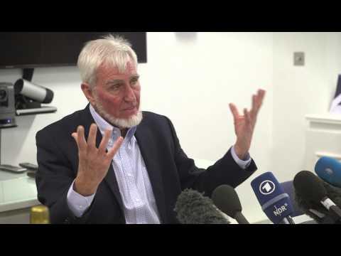 Professor John O'Keefe: winner 2014 Nobel Prize for Physiology or Medicine