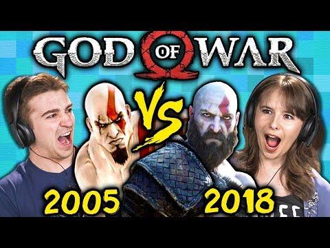 GOD OF WAR Old Vs. New (2005 Vs. 2018) (React: Gaming) thumbnail
