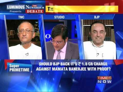 The Newshour Debate: Modi-Mamata aggression - Part 2 (28th April 2014)