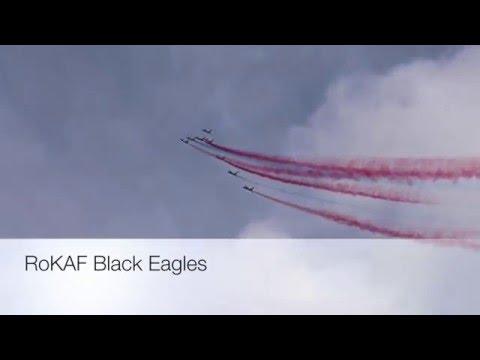 Singapore Airshow 2016 - RoKAF Black Eagles