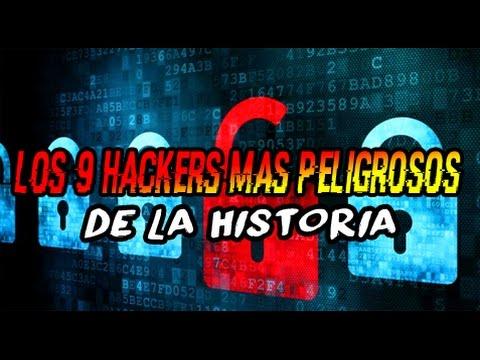 Los 9 HACKERS MÁS PELIGROSOS de la historia!!