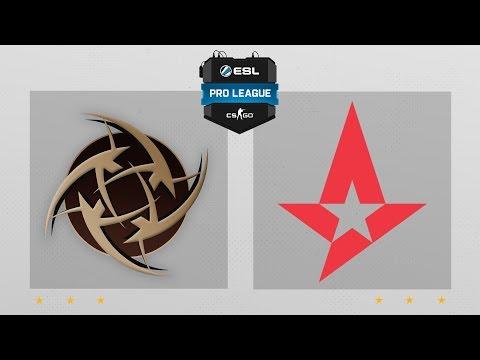CS:GO - NiP Vs. Astralis [Overpass] Map 2 - ESL Pro League Season 4 - EU Matchday 15