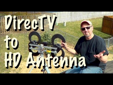 Get FREE TV - Replace DirecTV with an Off-the-Air Antenna