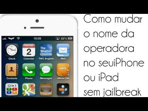 Como mudar o nome da operadora no seu iPhone ou iPad sem ter jailbreak - Tutorial - iDeviceNewz