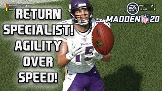 Madden 20 MUT Squads - Golden Tate proves that Agility is Better than Speed!
