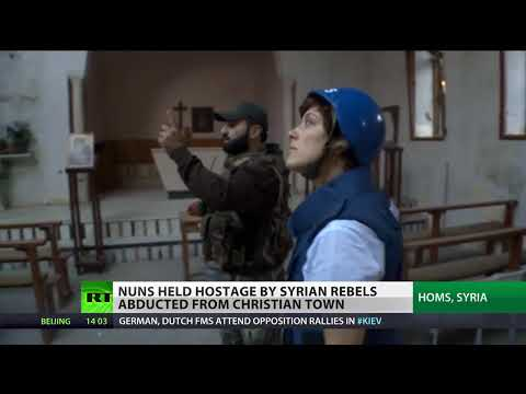 'Monstrous' Terror: Islamist rebels hold nuns hostage in Syria