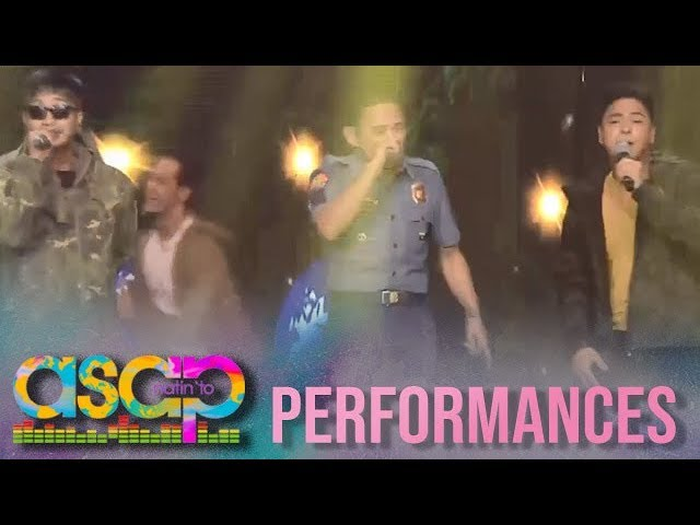 ASAP Natin 'To: Rapper policeman performs with Coco Martin on ASAP Natin 'To