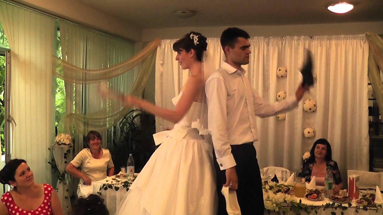 Конкурс застольный для жениха и невесты