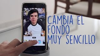 Cambia el Fondo de tus Fotos y Videos (Android y iOS)
