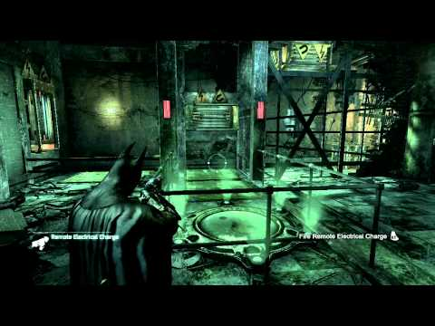 Batman Arkham City - Riddler Challenge Room 3!