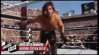 Wwe Rko vs Spear Reigns And Orton Must Watch