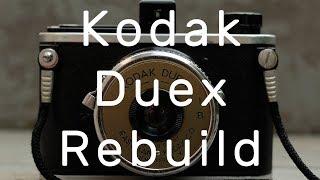 Kodak Duex 35mm film camera rebuild - from 1940-42