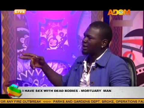 I Have Sx With Dead Bodies Says Mortuary Man video