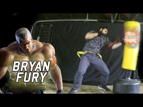 Real Life Tekken - BRYAN FURY's Brawling [Eric Jacobus]