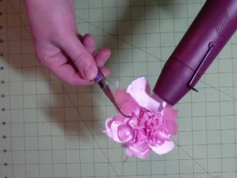 Melted Satin Vintage Flowers Video