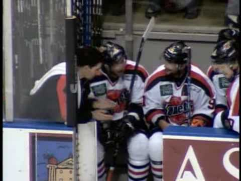 MATHIEU CURADEAU KOMETS HOCKEY HIGHLIGHTS 2008-09 SEASON