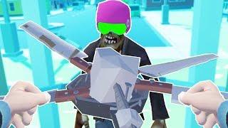 Apocalypse Knife-Scissor Base Defense - Undead Development VR