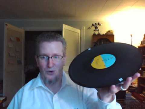 Cleaning Vinyl Records with Wood Glue... DISASTER!