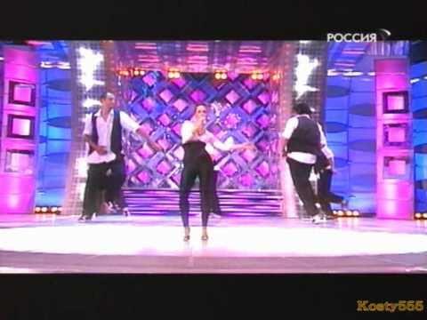 Жанна Фриске (Zhanna Friske in leggings)
