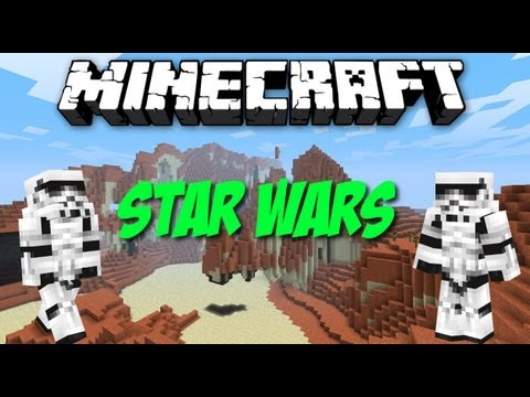 Minecraft Star Wars Mod [1.6.2] Deutsch [Vorstellung+Installation}